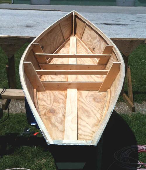 Лодка для охоты из фанеры своими руками 64